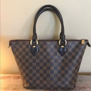 ✨LOUIS VUITTON✨ DAMIER EBENE SALEYA PM